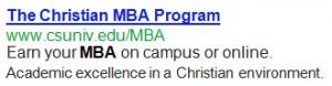 MBA CHARLESTON SOUTHERN UNIVERSITY