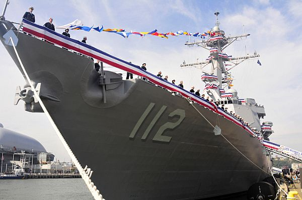 The guided-missile destroyer USS Michael Murphy (DDG 112). Photo courtesy of the U.S. Taxpayer (from .Mil website)