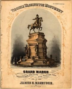 Virginia Washington Monument Poster Gov